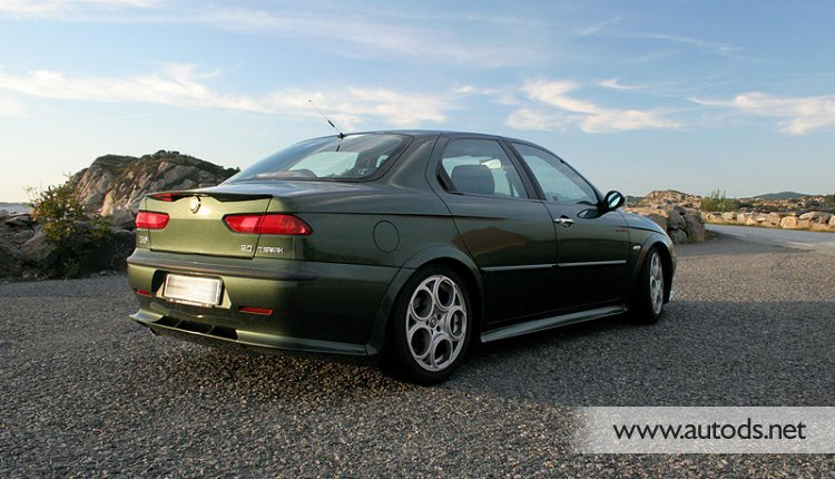 Alfa 156 Full Zender-look Bodykit - Click Image to Close