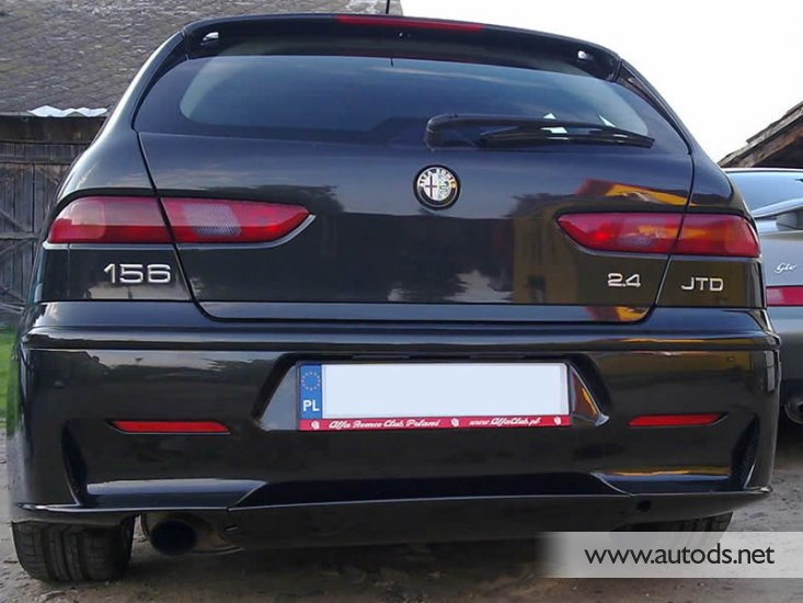 alfa romeo 156 sw rear bumper gta look autods team poland. Black Bedroom Furniture Sets. Home Design Ideas