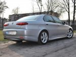 Alfa 166 Zender-look Rear Bumper Lip Spoiler