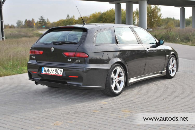 alfa romeo 156 gta bodykit sportwagon autods team poland. Black Bedroom Furniture Sets. Home Design Ideas