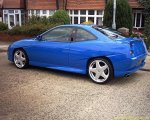 Fiat Coupe - Rear bumper lip spoiler Zender look