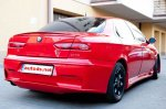 Alfa Romeo 156 Rear Bumper GTA look saloon